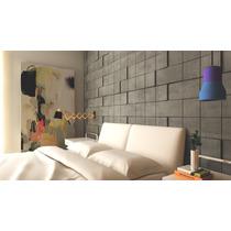 Calcareo Mosaico Cuadrado Relieve · 18x18 · Bara Diseño ·