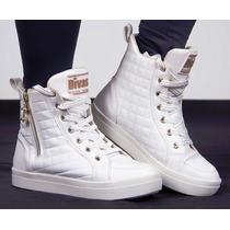 Tênis Sneaker Divas Bota Treino Academia Fitness Fretegrátis