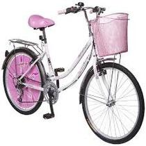 City Bike Lady 18 Velocidades R-24 Bimex