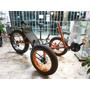 Bicicleta-triciclo Fat Recumbente 20x4.0,26x4,0