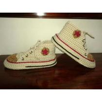 Pantuflas Botitas En Crochet! Talles Y Colores Varios!