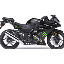 Adesivo Kawasaki Ninja 250 R Ninja250 Moto Carenagem