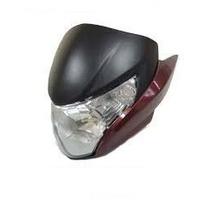 Carenagem Farol Completa Honda Titan150 Mix 2011 12 Vermelho