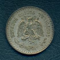 Moneda México 1926 1 Peso Km#455 (plata)