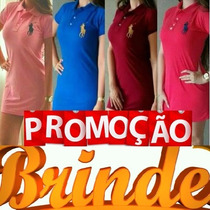 Promoção Vestidos Sociais Curto,roupas Da Moda Vestidos Polo