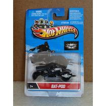 Bat-pod Boneco Com Moto Do Batman - Hot Wheels 1:64 Lacrado