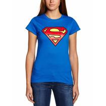 Camisas Franelas Supergirl Para Mujer