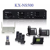 Conmutador Hibrido Digital Ip Panasonic Kx-ns500 Kx-td521