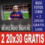 Impresiones De Fotos Digitales 13x18 X100 $300