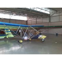 Aeronave Ultraleve Fox V2 Hks700-e Com Apenas 317hs
