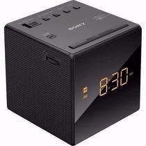 Rádio Relógio Digital Sony Led Am Fm Icf-c1 Led