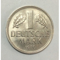 Moneda Alemania 1 Deutsche Mark 1970 D. Sin Circular
