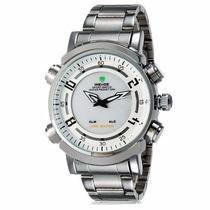 Relógio Masculino Pulso Weide Led Digital E Analógico Wh1101