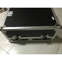 19pol Flight Case Americano Para Mesa De Som E Apoio Laptop