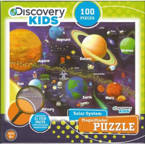 Discovery Kids Solar System Magnifinder Puzzle Piece 100