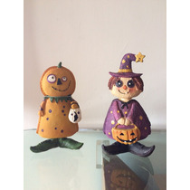 Decoración Halloween Fiesta Muñecos Recuerdos Niños Infantil