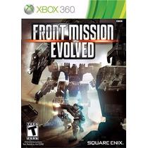 Jogo Xbox 360 Front Mission Evolved Original E Lacrado
