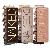 Kit 3 Paletas Urban Decay - Naked 1, 2 E 3. Pronta Entrega.