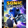 Sonic Unleashed Nuevo Ps3 Dakmor Canje/venta