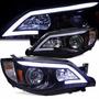 Faro Delantero Ojo De Angel Subaru Impreza Wrx 2008 2014 Par