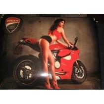 Cartel Moto Ducatti Reproduccion No Enlozado - Nuevo 43 X 30