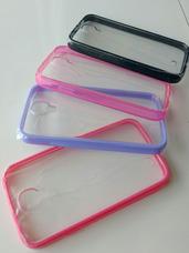6b75192bd58 Capa Macally Transparente Cborda Silicone - Capas para Celular ...