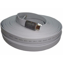Cable Hdmi 20m V1.4 Plano Full Hd 1080p Nisuta Ns-cahdmi20mc
