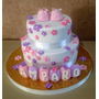 Tortas Decoradas Baby Shower Nacimiento Bautismo Comunion