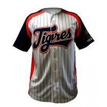 Jersey De Baseball Tigres El Siglo