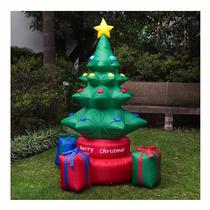 Arbol De Navidad Pino Giratorio Inflable Wow