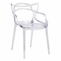 Cadeira Allegra - Masters - Ana Maria- Transparente Acrilica