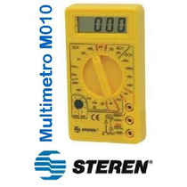 Multimetro Digital Basico Steren Mul010