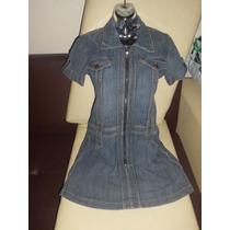 Vestido De Blue Jeans Casual Corto Juvenil Bacci