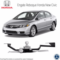 Engate reboque new Civic 2007 2008 2009 2010 2011 2012
