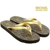 Sandalias Flip Flops Michael Kors - 100% Nuevo Y Original