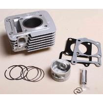 Suzuki En 125 En125 Gn125 Cilindro Kit Con Empaques Y Bujia