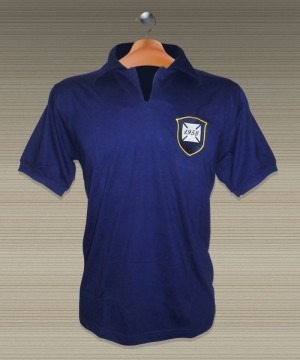 41be24ddbd Camisa Retrô Brasil Seleção Brasileira 1958 - R  40