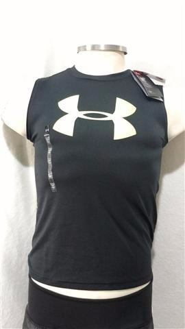 1aef4026b2a Camiseta Regata Under Armour Infantil - R  130
