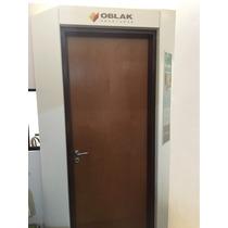 Puerta Placa Oblak M/chapa 70x2.00 Cedro Durlock Y Tabique10