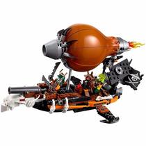 Brinquedo Lego Ninjago Raid Zepplin Zepelim De Ataque 70603