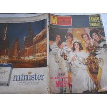 Manchete Nº 536 Janeiro De 1962 A Eleição De Miss Universo