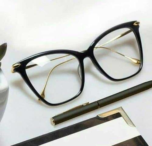 Óculos De Grau armação Preta Dita - R  85,00 em Mercado Livre 184a5fb264