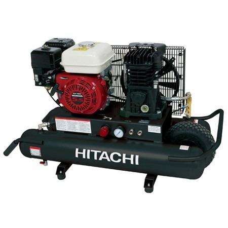 compresor de aire de gasolina. compresor de aire a gasolina hitachi motor honda - $ 19,750.00 en mercado libre méxico