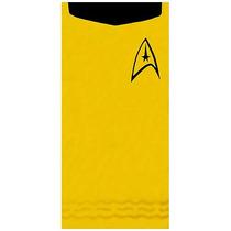 Toalla De Star Trek Kirk Gold 4dageek