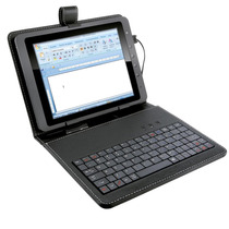 Mini Teclado Slim Usb Com Capa Para Tablet 10 - Multilaser