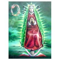 Pintura De La Virgen Guadalupe 2003, Óleo S Tela, 120 X 90cm