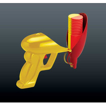 Pistola Salsa Dispensador - Claro Mostaza Fuego Condimento S