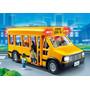 Playmobil 5940 - Colectivo Autobus Escolar Con Luces
