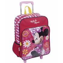 Mochila Minnie Rodinhas Escolar Turma Do Mickey - Sestini