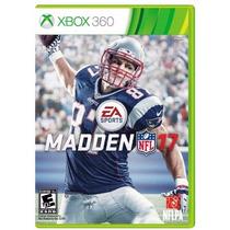 ..:: Madden Nfl 17 ::.. Para Xbox 360 En Start Games